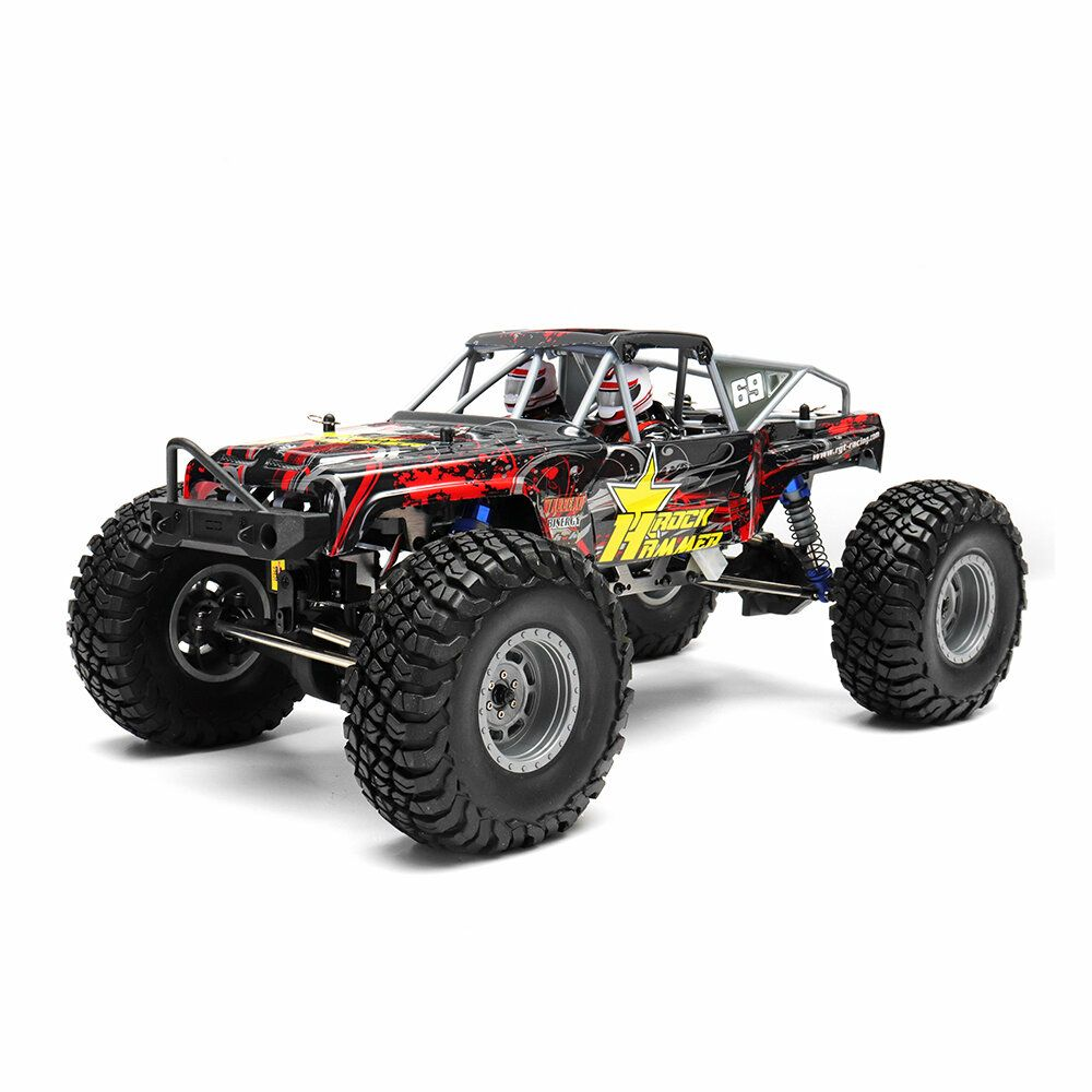 HSP RGT 18000 1/10 2.4G 4WD 470mm Rc Car Rock Hammer Crawler Off road Truck RTR Toy