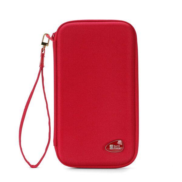 Anti Extrusion Document Storage Bag Travel Bag Purse
