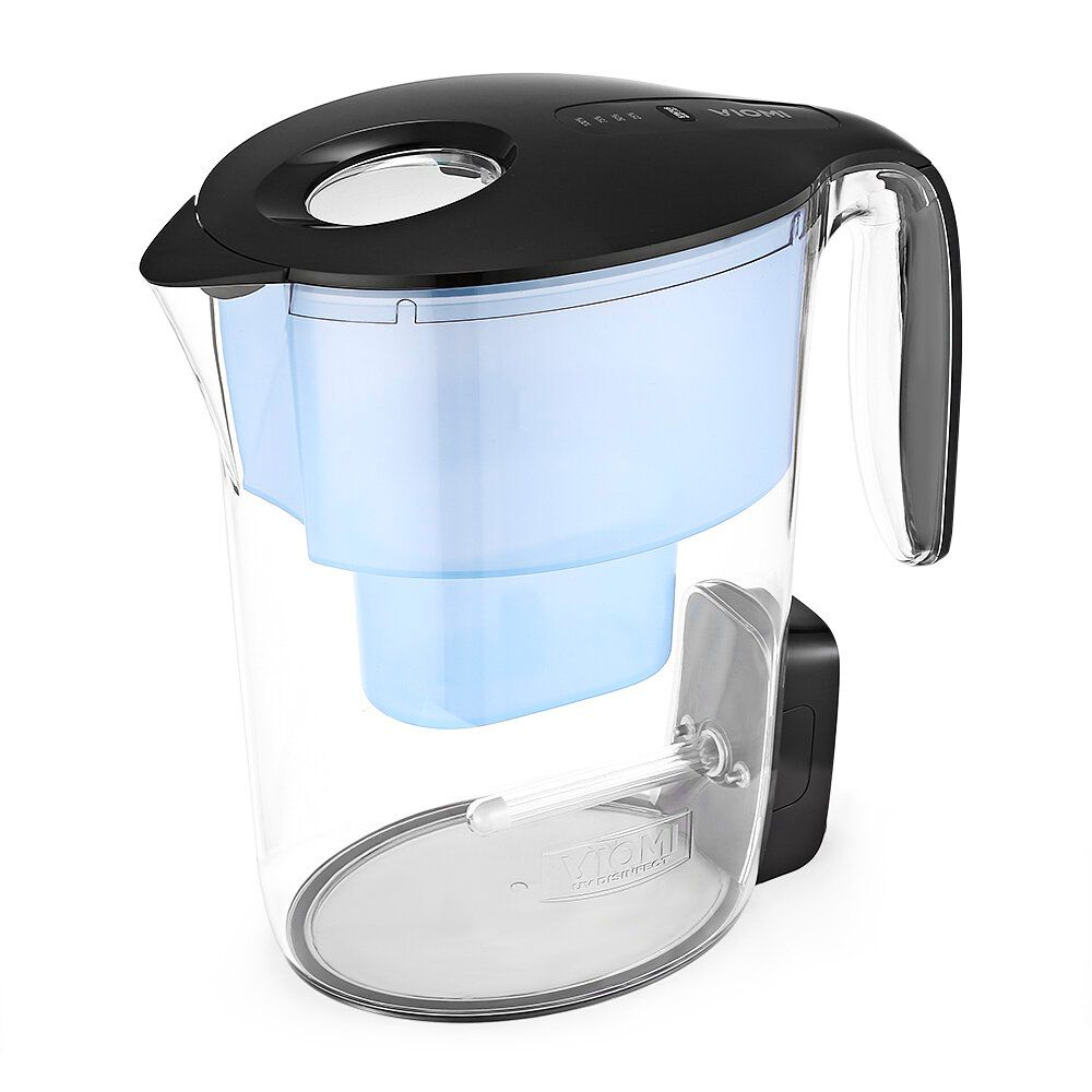 VIOMI VH1Z A UV Disinfection Water Filter Kettle 7 Stage Filtration Intelligent Display ABS material USB Rechargeable Design