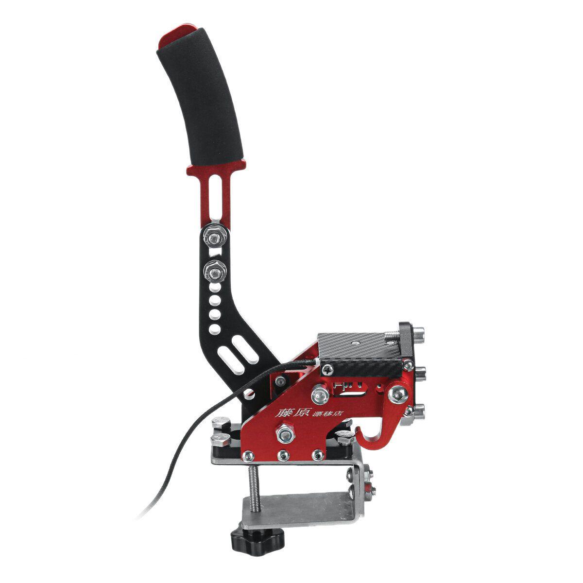 14Bit PC Hall Sensor USB Handbrake Hydraulic Lever SIM With Fixture Clamp For Racing Games G25/27/29 T500 FANATECOSW DIRT
