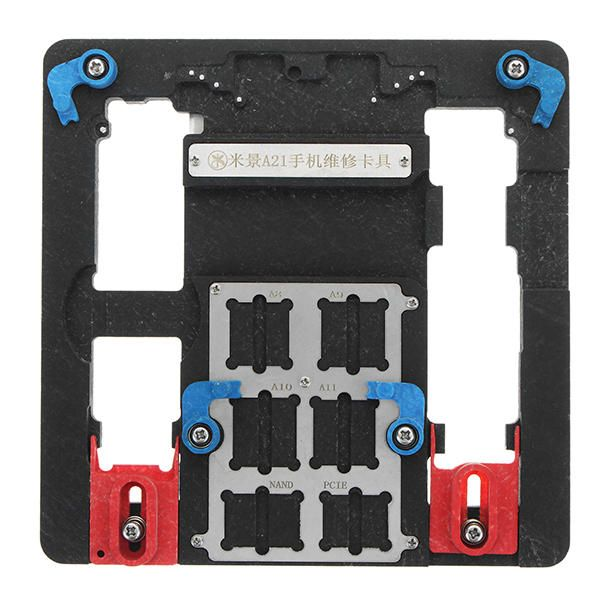 A21 Motherboard Clamps High Temperature Main Logic Board PCB Fixture Holder for iPhone 5S 6 6S 7 8 Plus Fix Repair Mold Tool