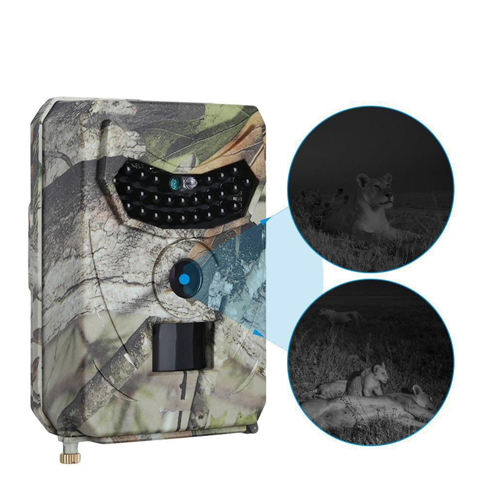 KALOAD PR 100 12MP 12Million Pixel 1080P HD Video 120° Wide Angle Lens Waterproof Wild Hunting Trail Camera Infrared Night Vision