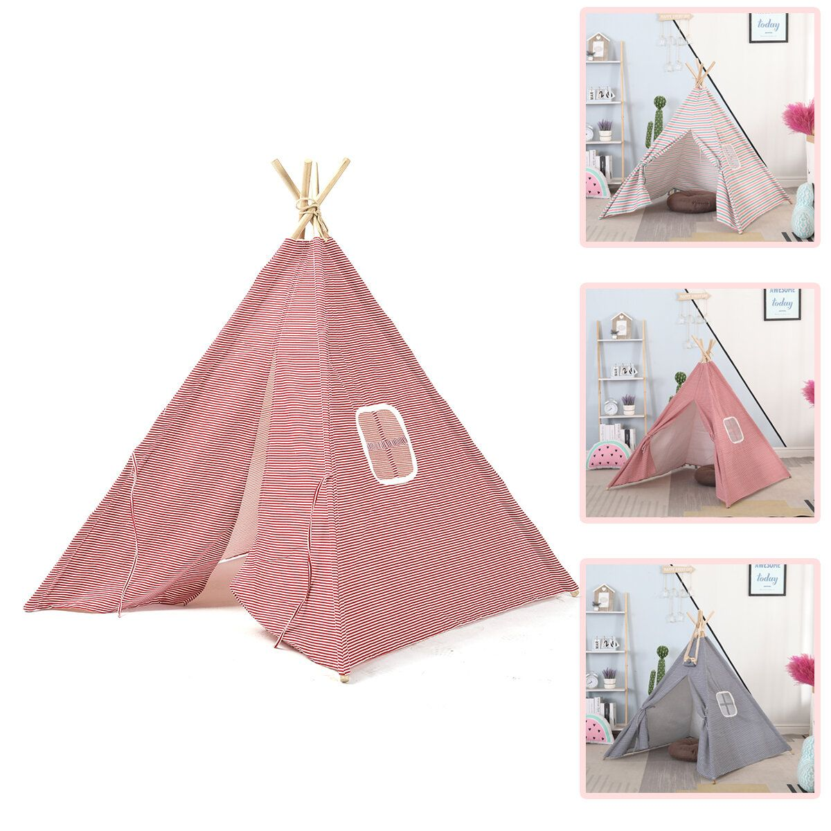 Waterproof Portable Tent Backpacking Outing Camping Tabernacle for Outdoor Picnic Tool