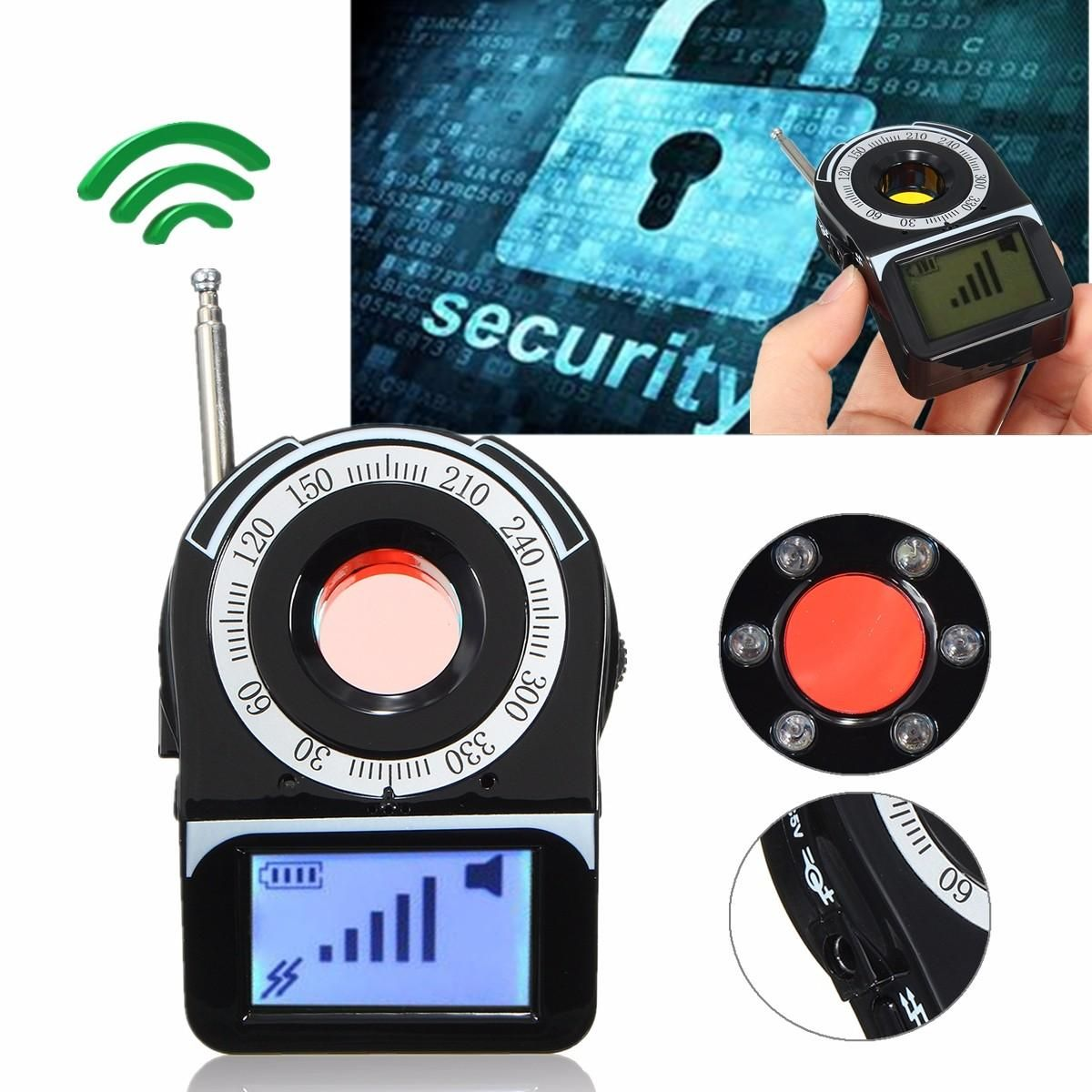 CC309+ Anti tapping GPS GSM WIFI G4 Camera RF Signal Automatic Detector Finder