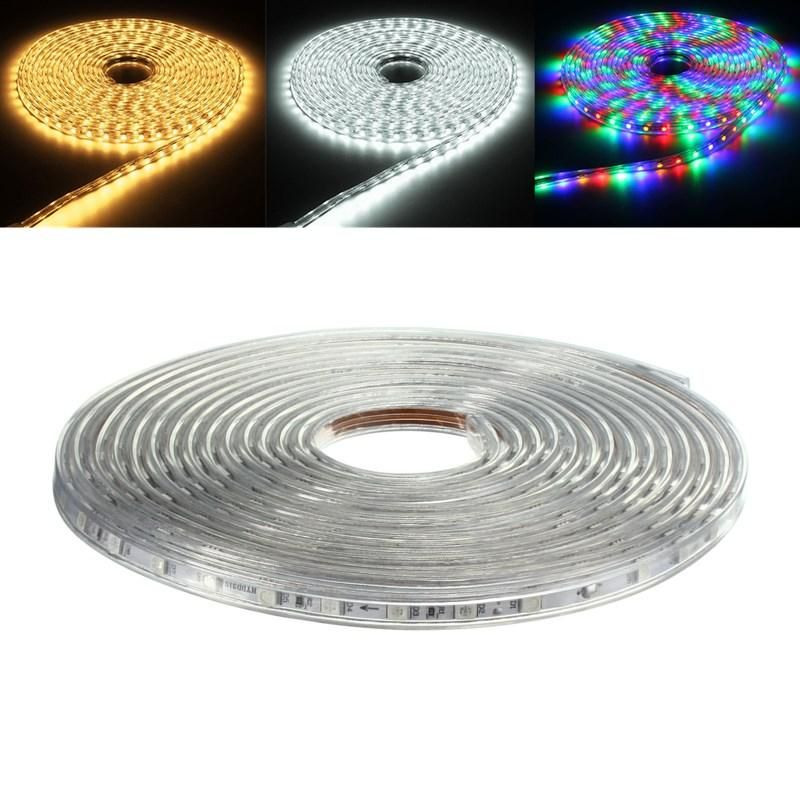 8M 5050 LED SMD Outdoor Waterproof Flexible Tape Rope Strip Light Xmas 220V
