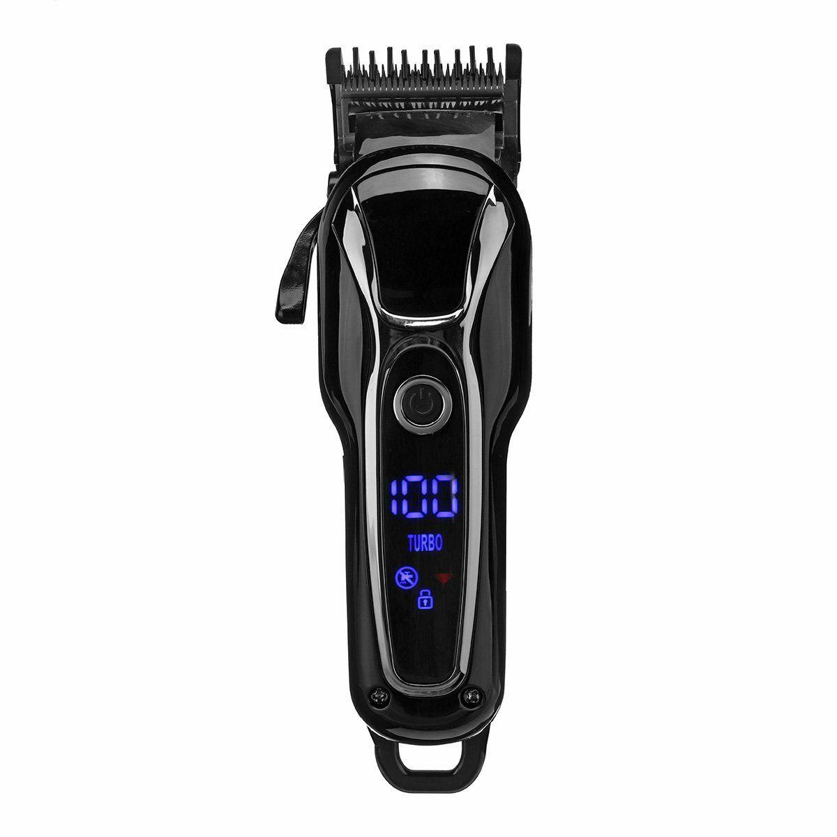 SURKER Ceramic Cutting Head Hair Clipper Men's Electric Cordless Hair Trimmer kit
