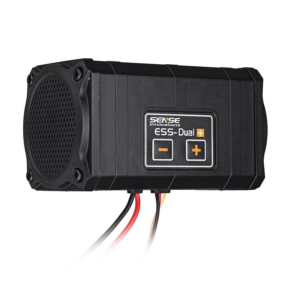 Sense Innovations ESS DUAL 2 SPEAKERS Engine Sound Simulator For Axial SCX 10 II WRAITH Traxxas TRX4