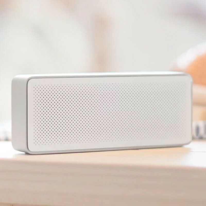 Original Xiaomi Square Box Ⅱ 1200mAh AUX Line in Hands free Wireless bluetooth V4.2 Speaker With Mic