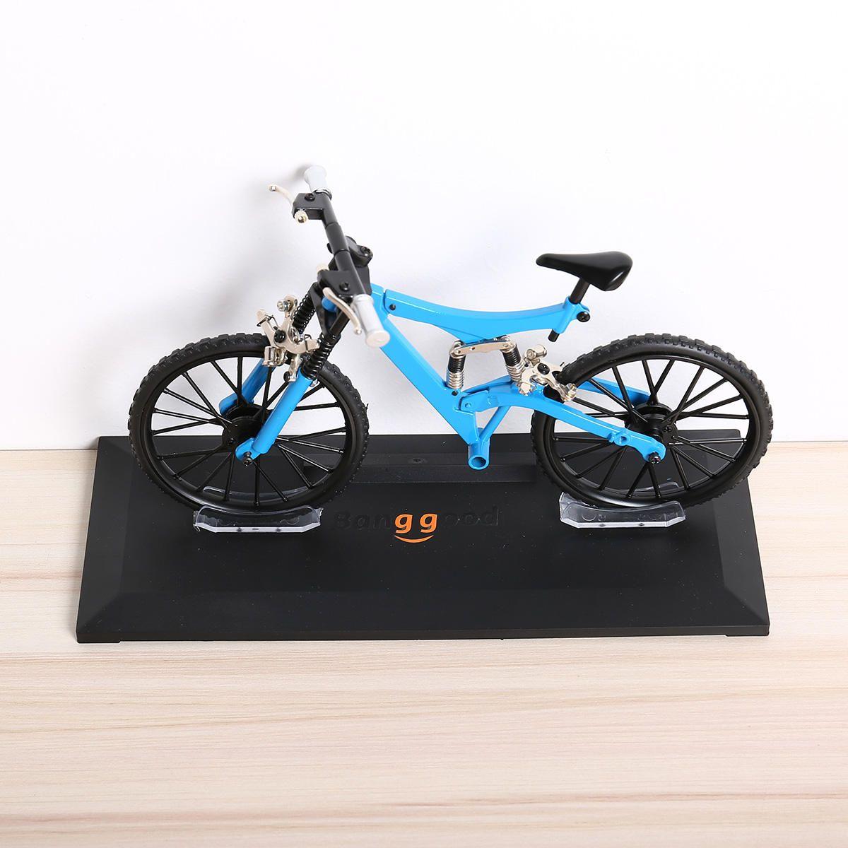 Banggood Bicycle Model Simulation DIY Alloy Mountain/Road Bicycle Set Decoration Gift Model Toys