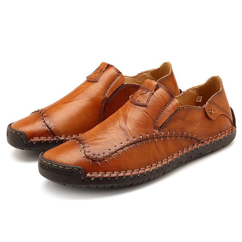 Menico Big Size Soft Slip on Loafers