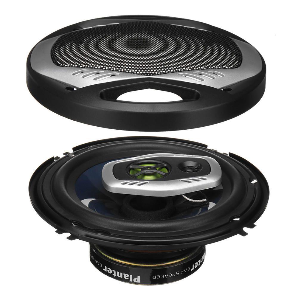 Pair TS A1683R 6Inch 600W 2 Way Car HiFi Coaxial Speakers Motorcycle Door Audio Horns