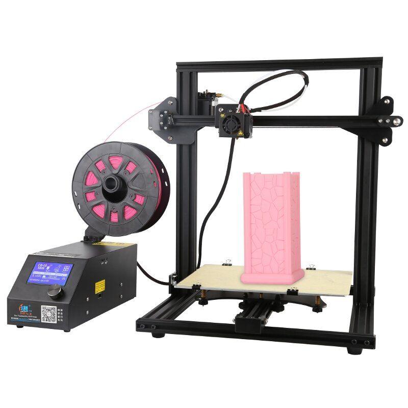 Creality 3D® CR 10 Mini DIY 3D Printer Kit Support Resume Print 300*220*300mm Large Printing Size 1.75mm 0.4mm Nozzle