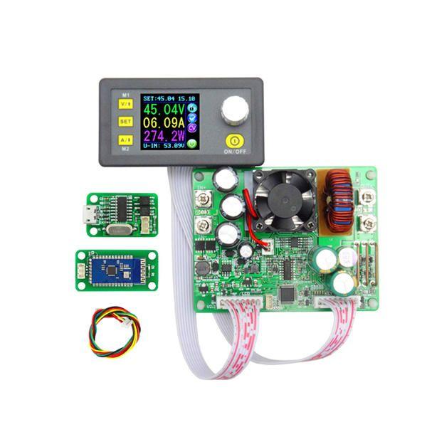 RIDEN® DPS5015 Communication Constant Voltage Current Step Down Digital Power Supply Module Buck Voltage Converter LCD Voltmeter 50V 15A