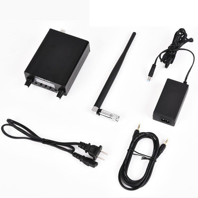 CZERF CZE 05B 0.5w MINI Audio Amplifier FM Transmitter 76 108MHz Stereo PLL LCD Color Black