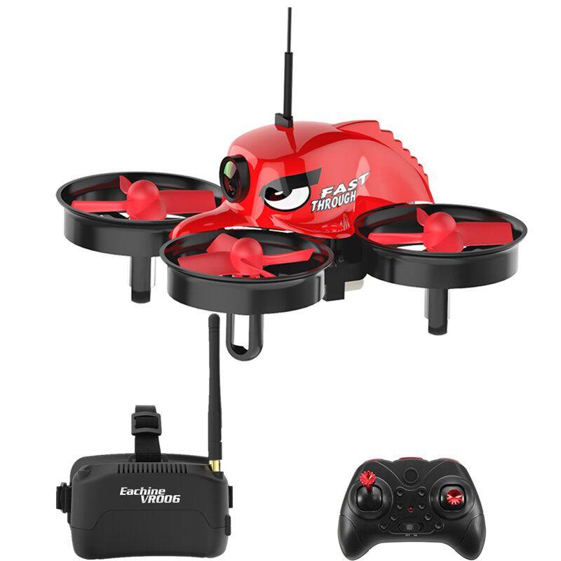 Eachine E013 Micro FPV RC Drone Quadcopter With 5.8G 1000TVL 40CH Camera VR006 VR 006 3 Inch Goggles