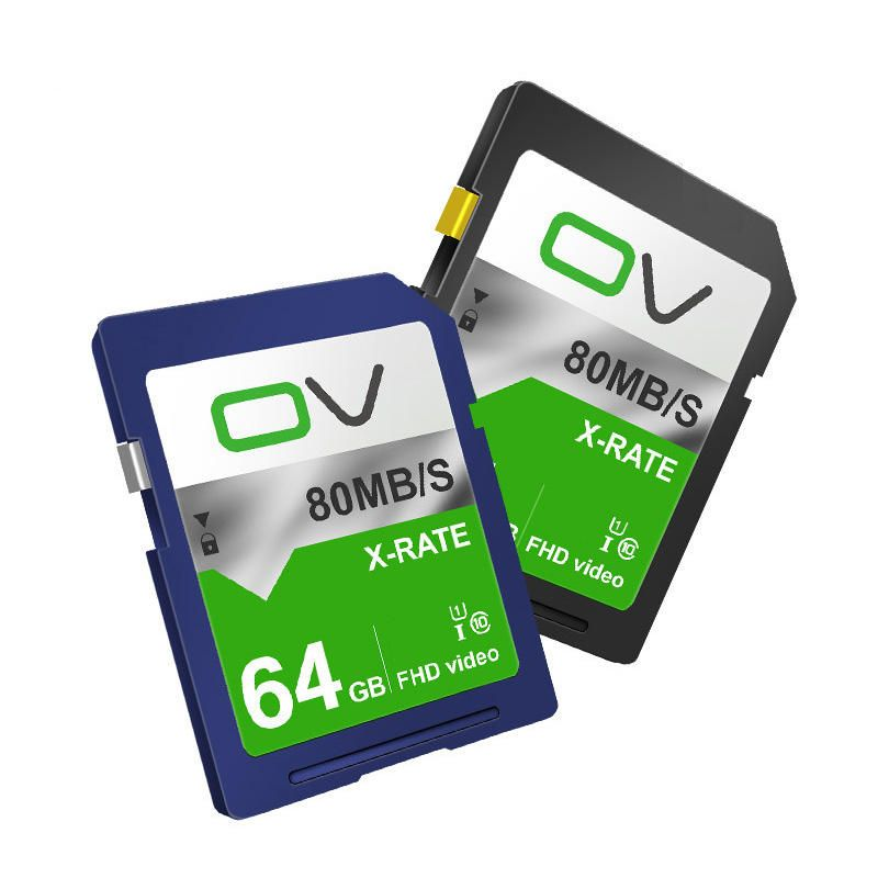 OV X Rate C10 64GB Memory Card for DSLR Camera Photography Support 1080P 30FPS Video Taking