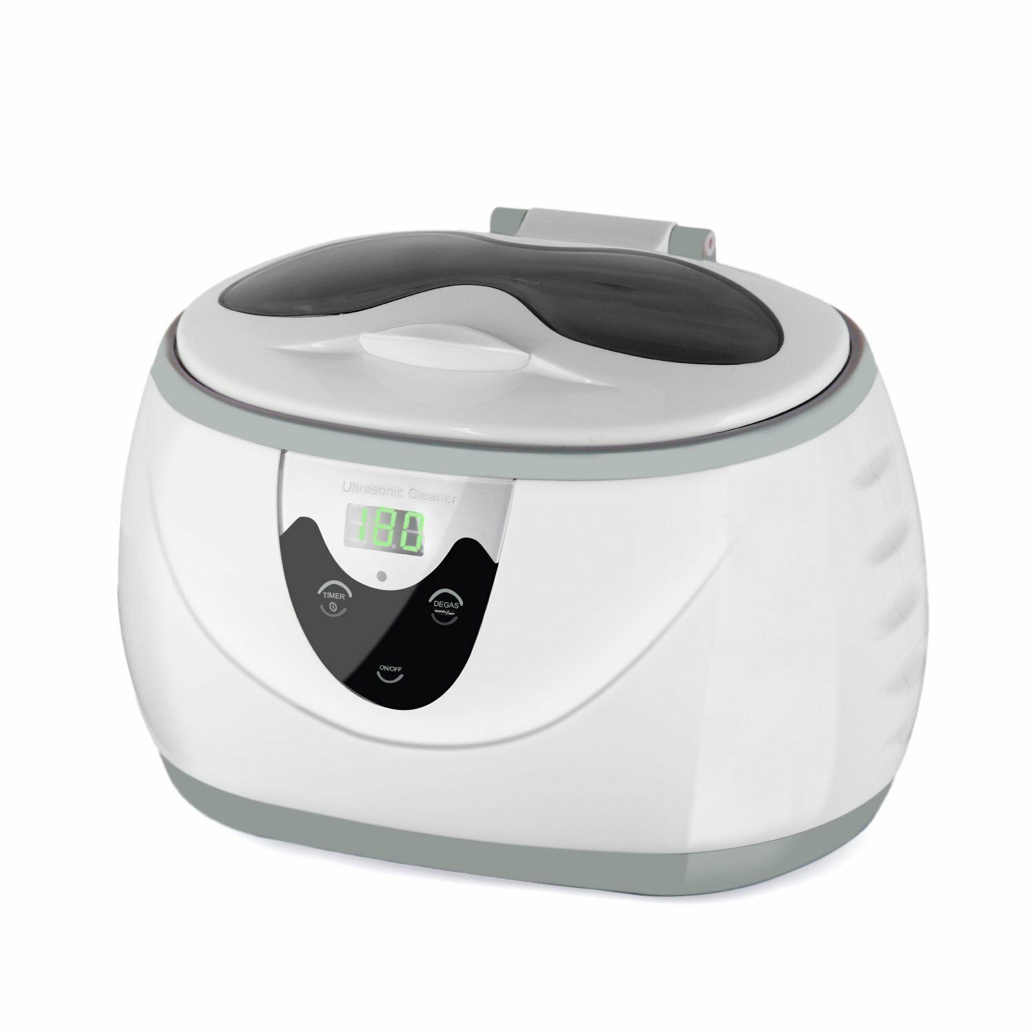 220V/110V Professional Ultrasonic Jewelry and Eyeglasseses Cleaner With Digital Timer