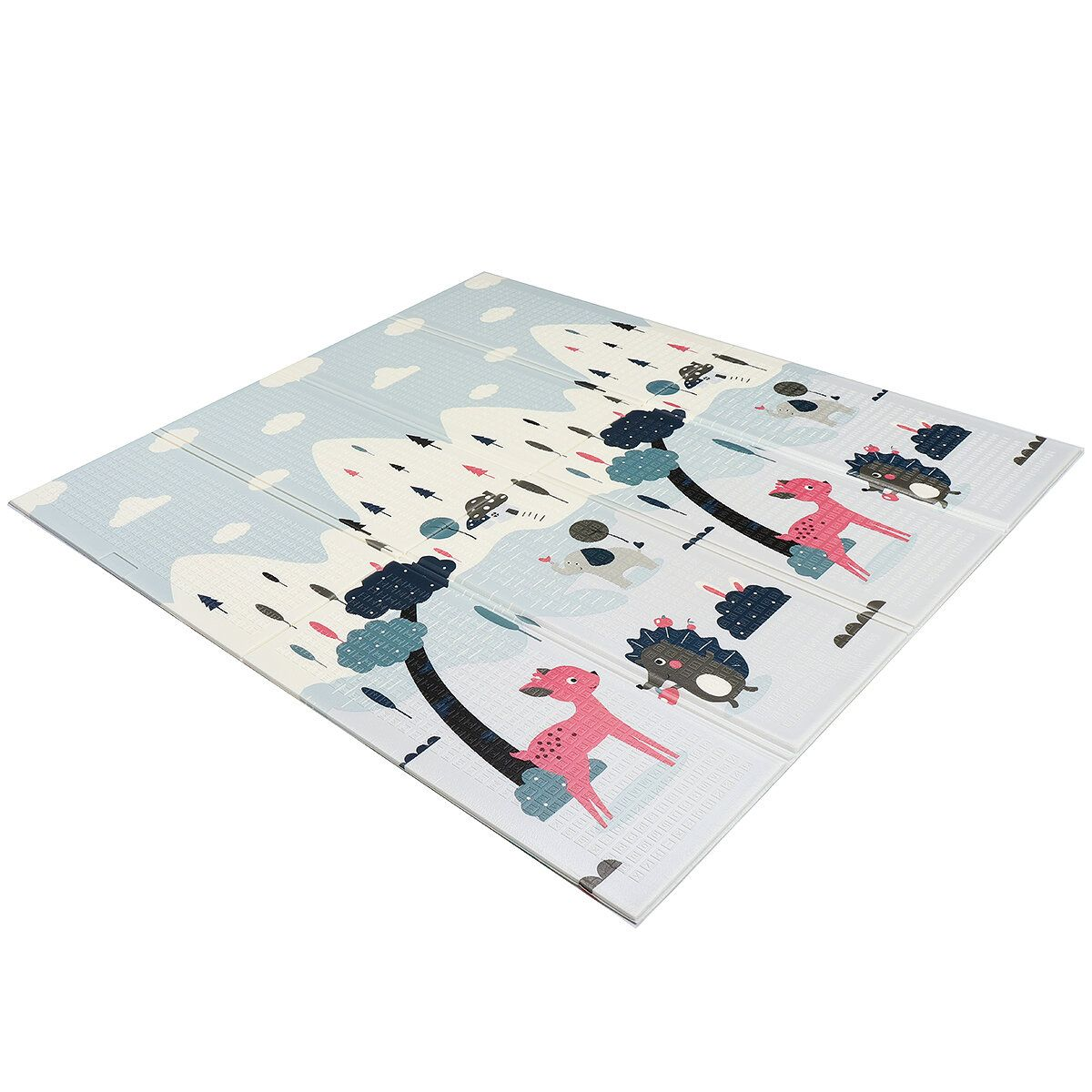 Double Sided Folding Children's Crawling Mat Thickened Climbing Mats Baby Game Mat Player for Kids Activity