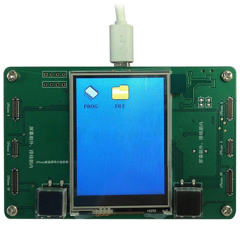 LCD Screen EEPROM Phone Photosensitive Data Read Write Backup Programmer Photosensitive Repair Tool for iPhone 8 8plus X