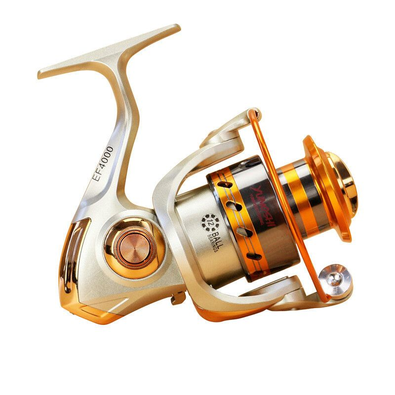 ZANLURE EF3000 6000 5.5:1 12BB Full Metal Spinning Reel Left/Right Hand interchange Fishing Reel
