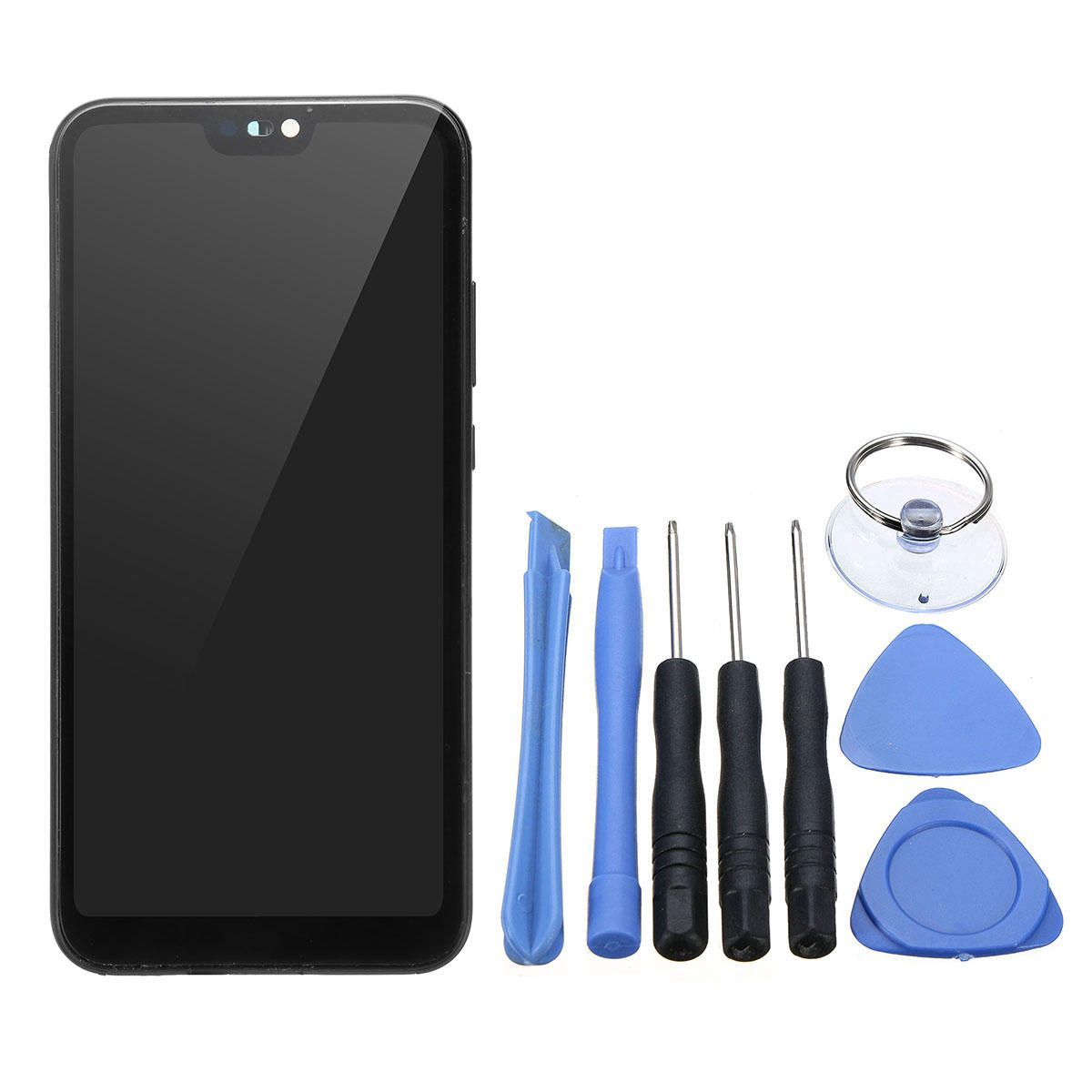LCD Display Touch Screen Digitizer with Phone Pry Opening Tool for HUAWEI P20 LITE NERO ANE LX1