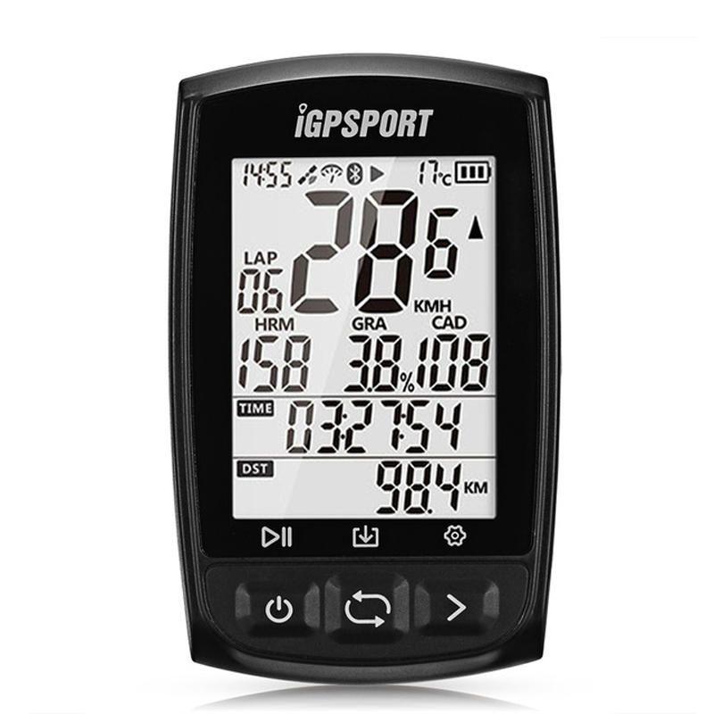 IGPSPORT IGS50E bluetooth 4.0 Wireless Bike Computer GPS ANT+ IPX7 Waterproof Cycling Speedometer