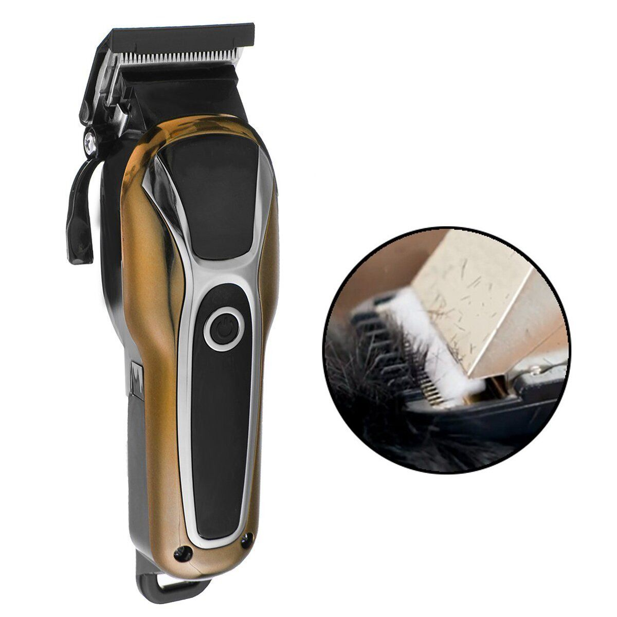 Surker SK 803 LCD Display Electric Hair Clipper High Power Detachable Head Cutting Comb