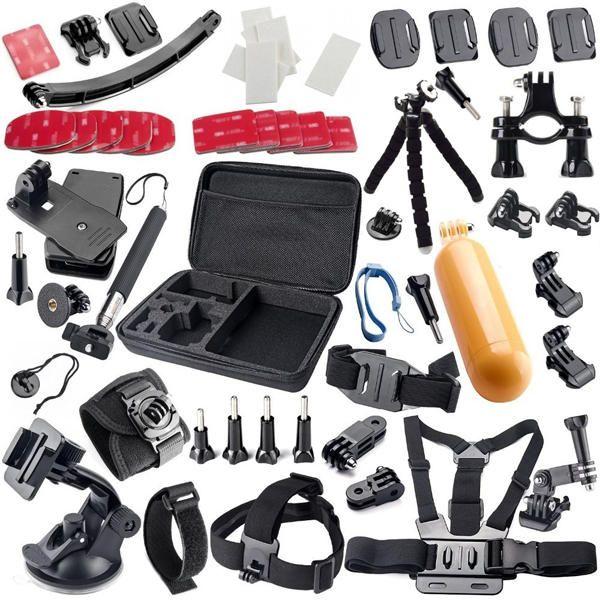 42 in 1 Floating Handle Grip Tripod Kit for Gopro Hero Sjcam Xiaomi Xiaoyi Action Sports Camera