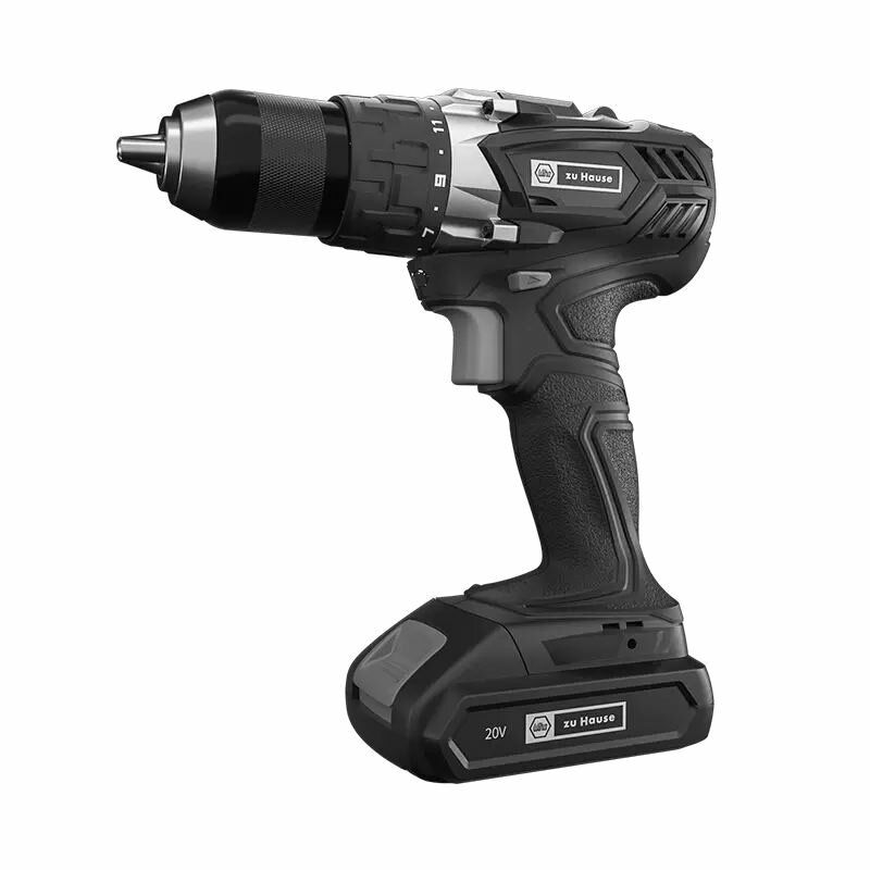 Wiha Zu Hause 20V Cordless Dual Speed Electric Drill Driver 40NM 1500mAh Lithium Electric Screwdriver Drill 15+1 Torque Black From XIAOMI You Pin