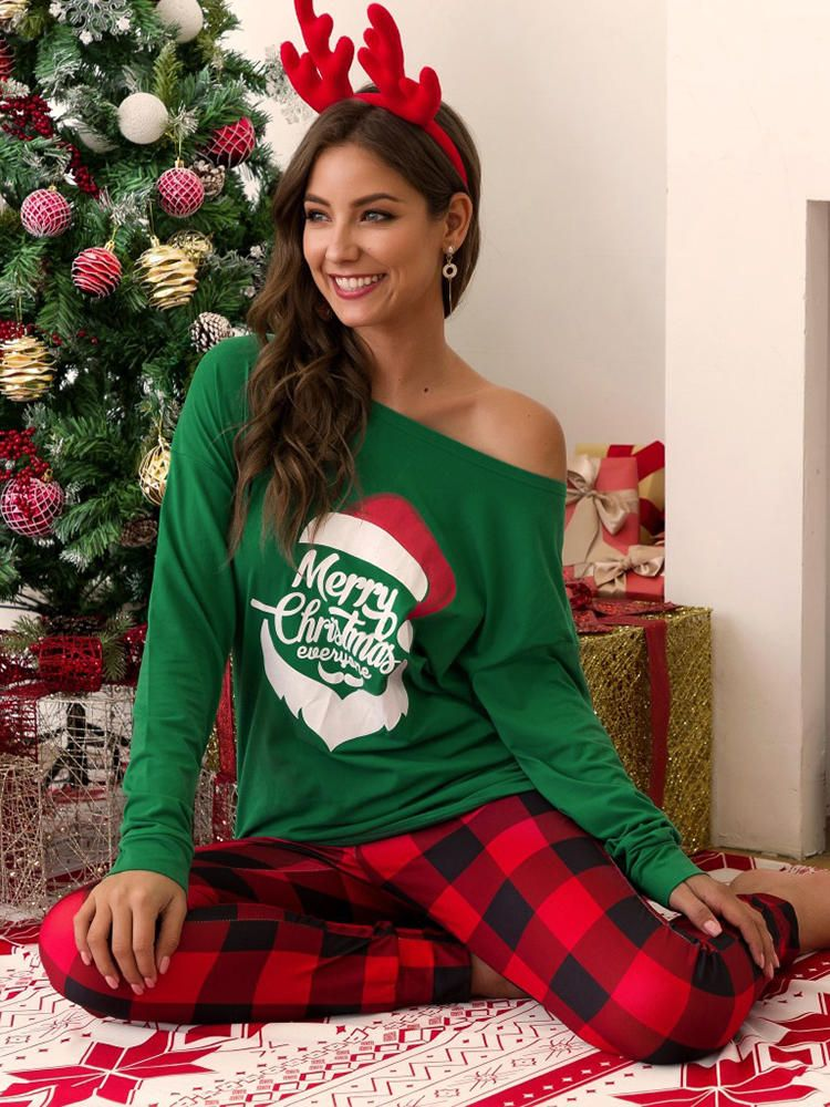 Christmas Women Print Causal Suits