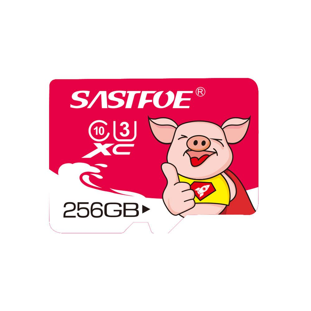 SASTFOE Year of the Pig Limited Edition U3 256GB TF Memory Card