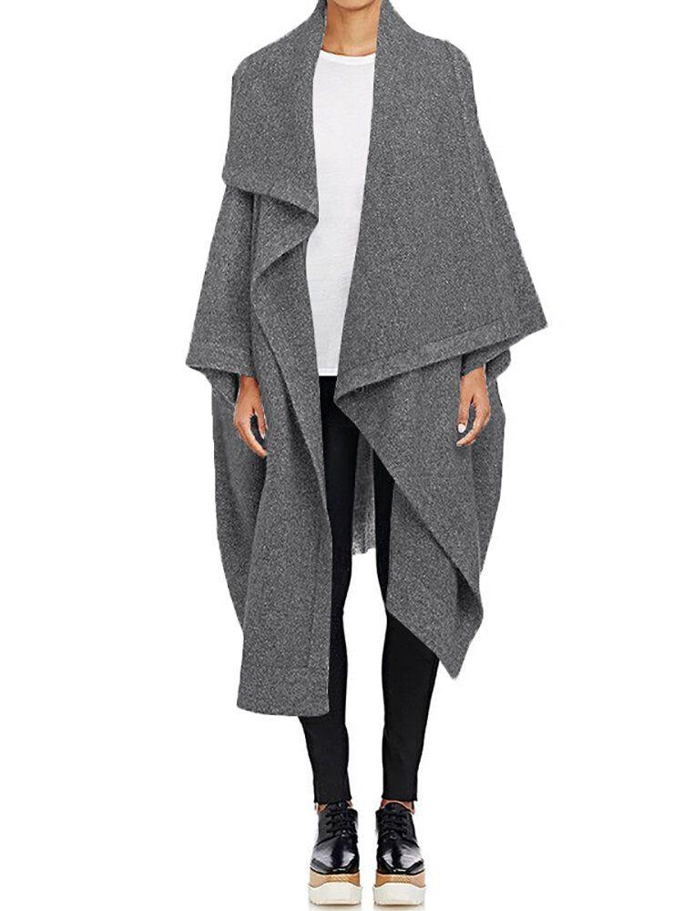 Women Long Sleeve Loose Cardigans