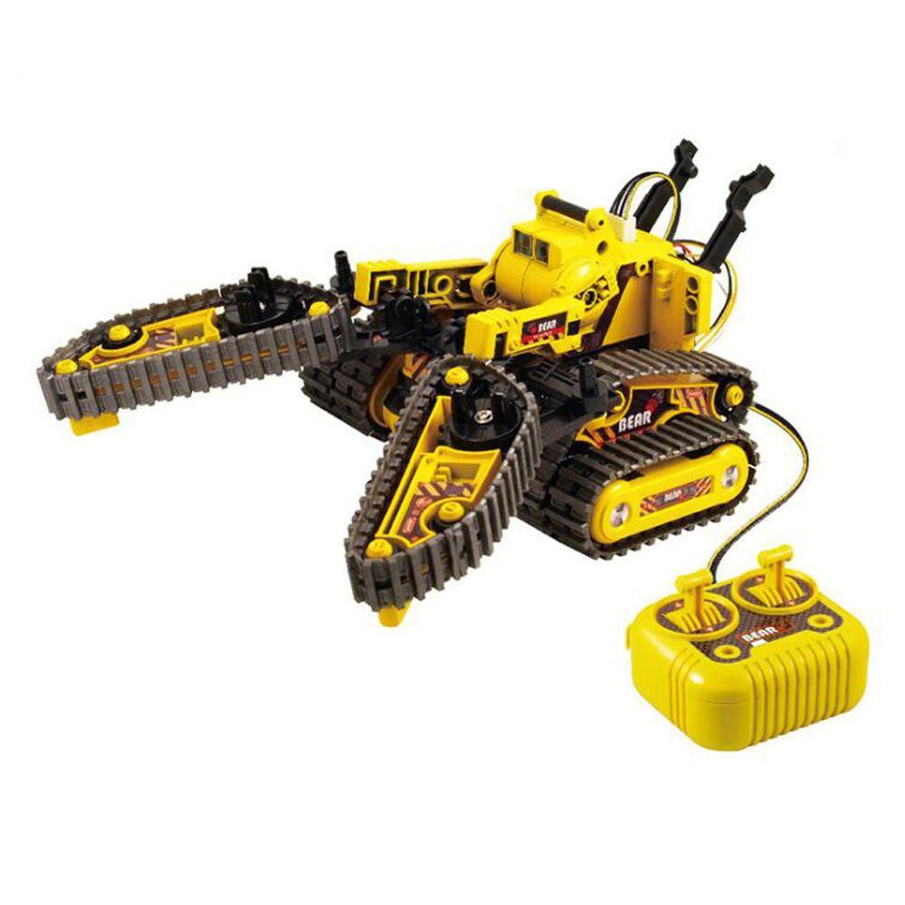 Pro'sKit DIY RC Tank Car Vehicle Models Children Intelligent Block Toys
