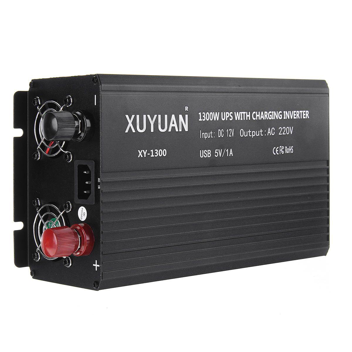 BHK US$96.73 3000W Sine Wave Solar Power Inverter Converter DC 12V to AC 220V UPS Modified  LCD Display Off Grid