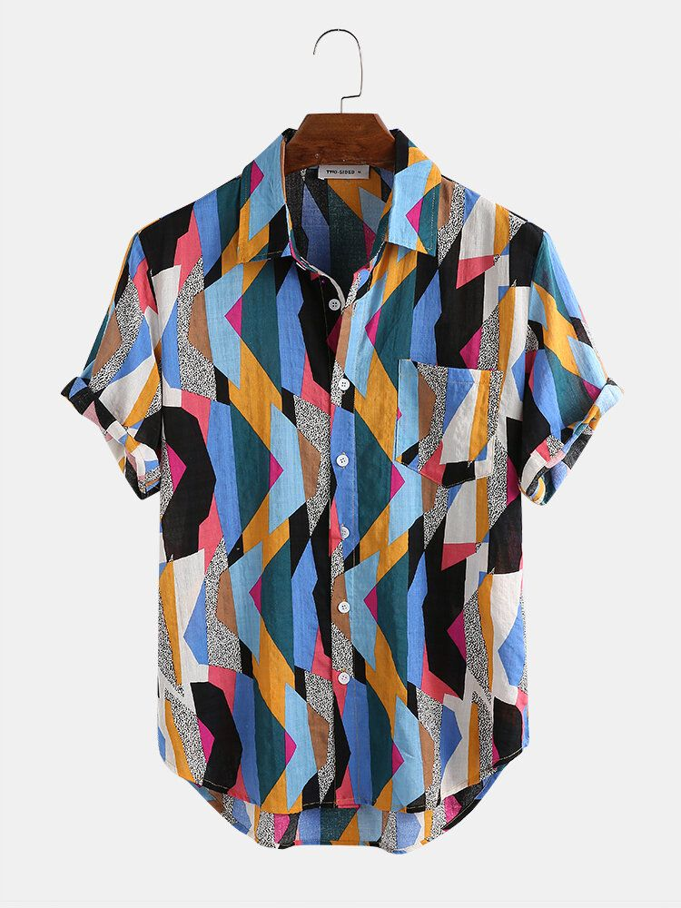 Mens Short Sleeve New Fahion Casual Shirts