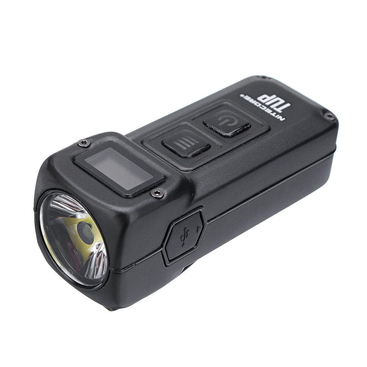 NITECORE TUP XP L HD V6 1000LM Rechargeable LED Keychain Light OLED Display Intelligent EDC Pocket Flashlight
