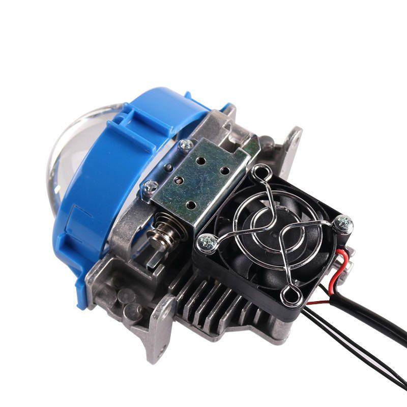 2Pcs 35W 5500k 2.5inch Auto Bi LED Projector Lens Headlights H4 H7 9005 9006 Car Motorcycle Headlight Retrofit Kits