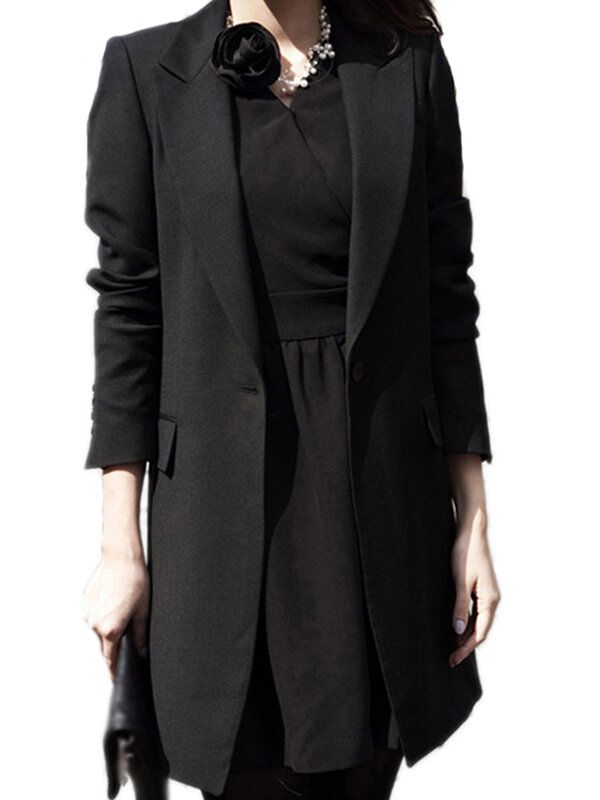 LNM US$27.99 Women Casual Office Business Tunic Blazer Jacket Coats