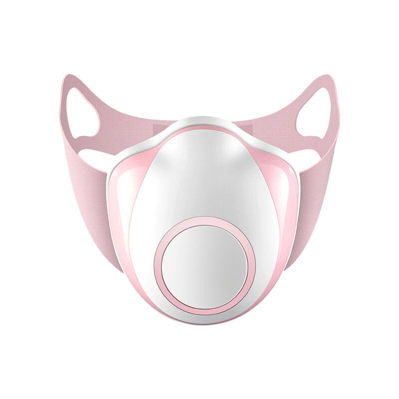 COX US$36.78 BIKIGHT Kids Smart Electric Dust Proof Face Mask With Air Supply Valve Anti PM2.5 Pollen Smog Breathing Mask