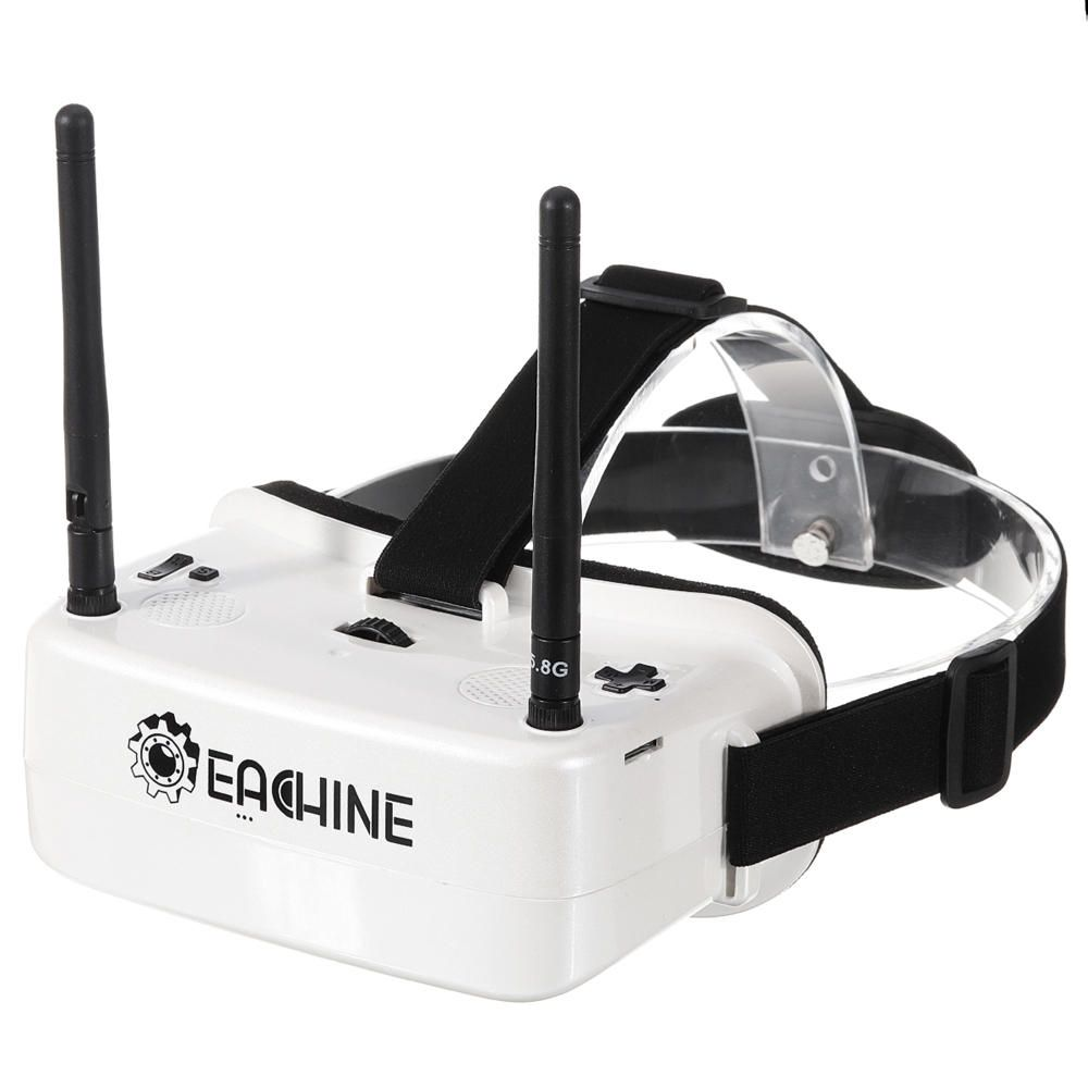 Eachine EW30 2 Inch TFT LCD 480*360 *2 Display 5.8Ghz 48CH 60 68mm IPD Adjustable FOV 120° FPV Goggles with DVR Built in 3.7V Battery For RC Drone