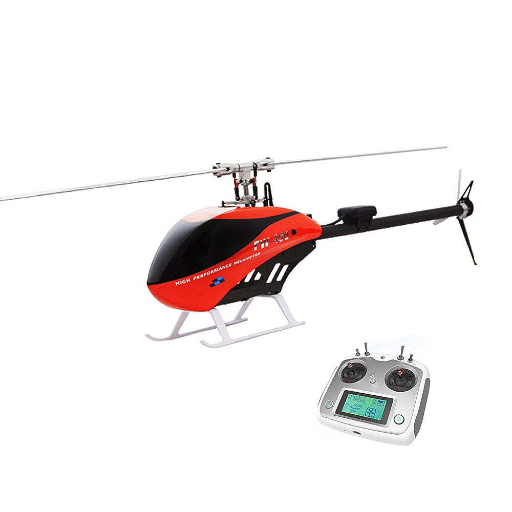FLY WING FW450 6CH FBL 3D Flying GPS Altitude Hold One key Return With H1 Flight Control System RC Helicopter RTF