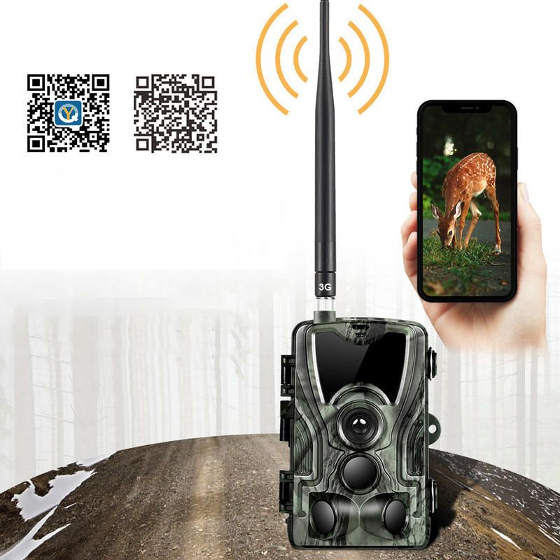 KALOAD HC 801G APP 1080P Hunting Camera Waterproof HD Infrared Scouting Wildlife Night Vision Trail Camera
