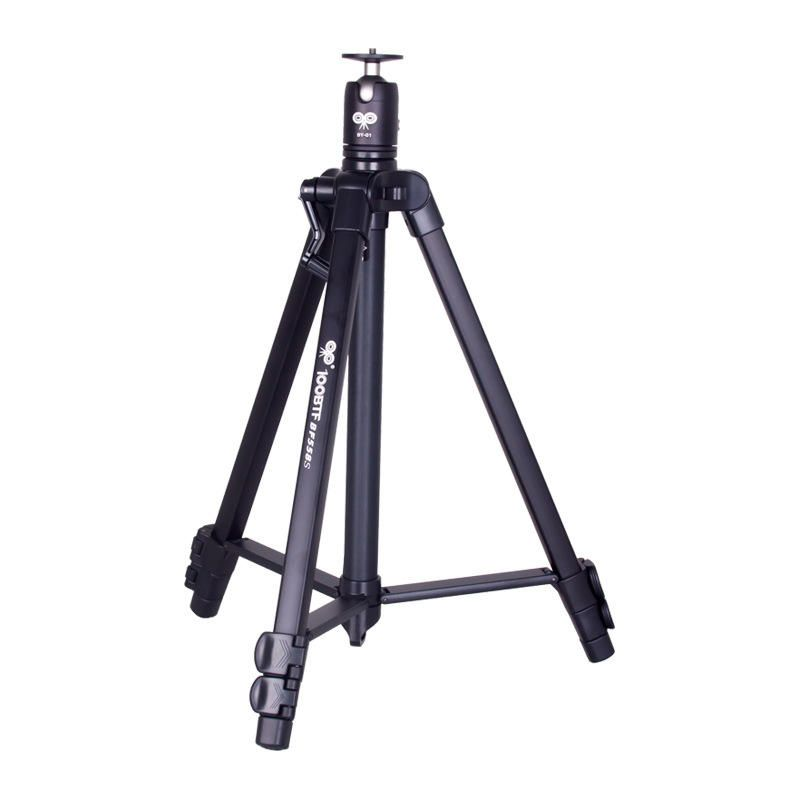 100BTF BF 558S Foldable 46cm 130cm Tripod with Removable Ball Head Max Load 10KG