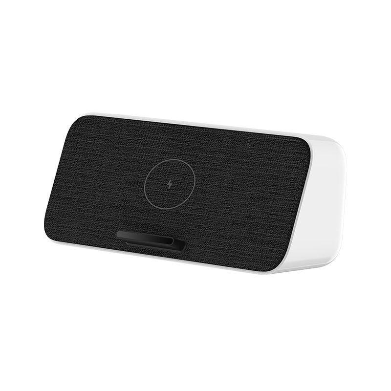 Original 30W Xiaomi bluetooth 5.0 Speaker Fast Qi Wireless Charging NFC Dual Bass Speaker for iPhone 11 Xiaomi 9/10 Pro Sam S10