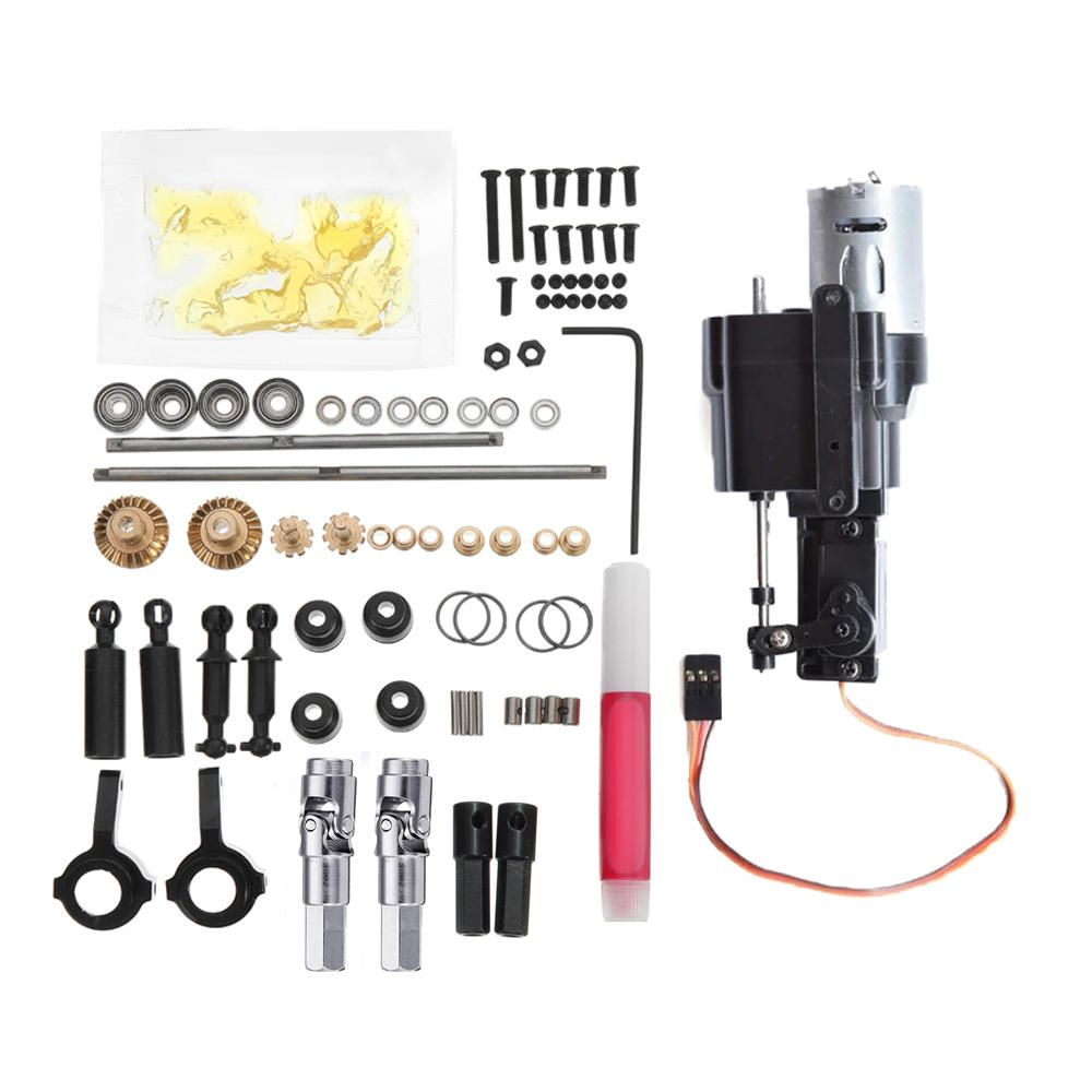 WPL Op Accessory And Change Speed Gear Box For WPL B1 B24 B16 C24 1/16 4WD 6WD RC Car Parts