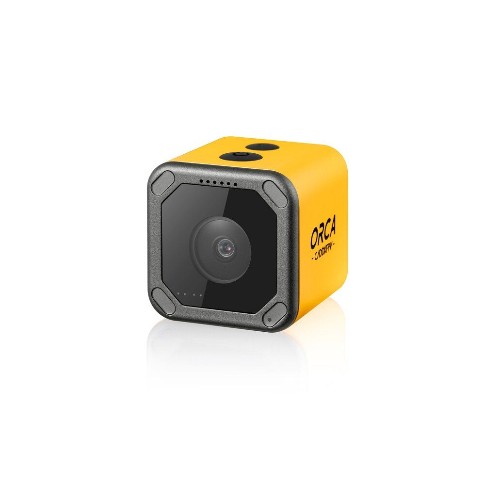 Caddx Orca 4K HD Recording Mini FPV Camera FOV 160 Degree WiFi Anti Shake DVR Action Cam for Outdoor Photography RC Racing Drone Airplane