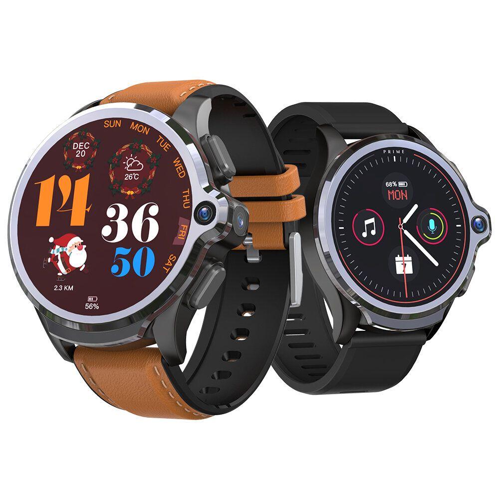 [Face Unlock]Kospet Prime SE 4G LTE 1G+16G Watch Phone Dual Cameras 1260 mAh GPS+GLONASS+A GPS Smart Watch