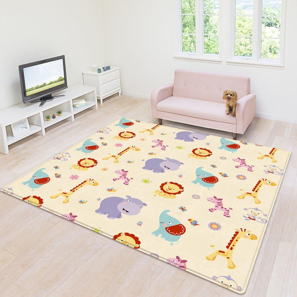 Non slip Baby Floor Play Mat Foam Floor Child Activity Soft Gym Crawl Creeping Blanket
