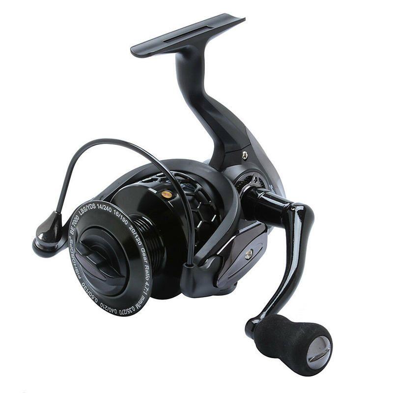 ZANLURE 12+1BB 5.5:1 Fishing Reel Metal Spinning Fishing Wheel High Speed 1000 7000