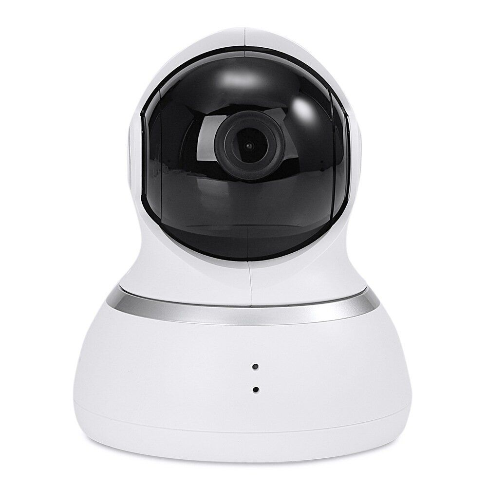 Xiaoyi 1080P Dome Camera 1080P Wireless IP Camera Pan Tilt Control Infrared Night Vision Motion Detection Home Wifi Camera Baby Monitors White